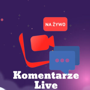 Komentarze - Transmisja Live facebook