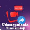 Udostępnienia transmisji na żywo facebook